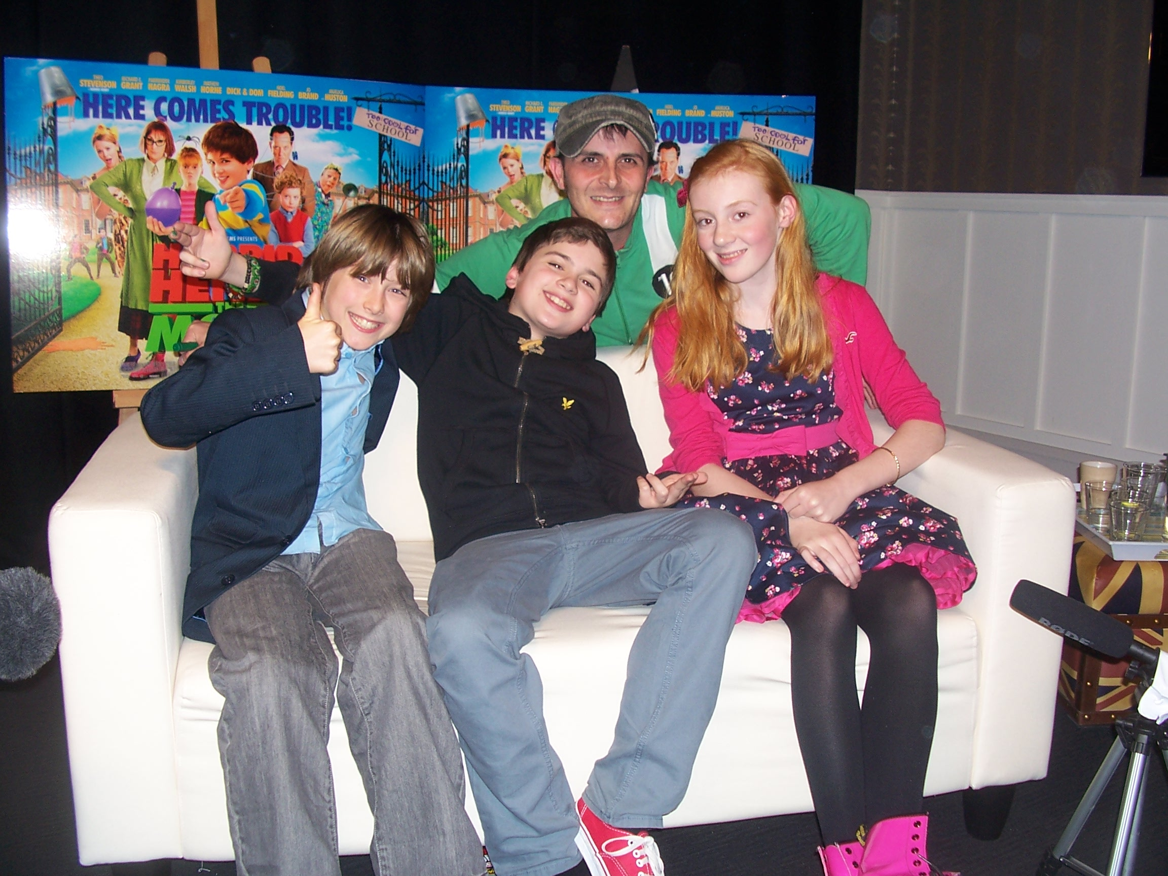 Horrid Henry The Movie Dad Meets The Cast